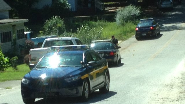 Deputies responded to Guess Street on Wednesday afternoon. (Aug. 27, 2014/FOX Carolina)