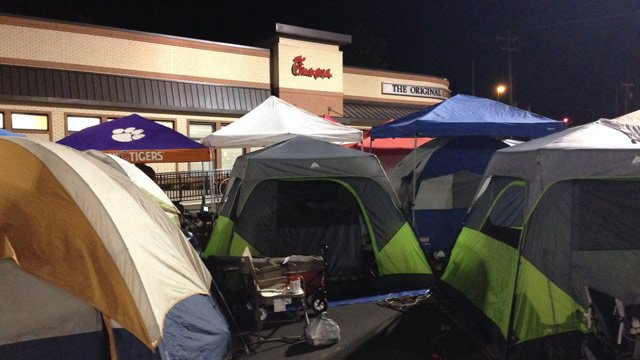 The Upstate's newest Chick-fil-A opens in Mauldin on Aug. 28. (Aug. 28, 2014/FOX Carolina)