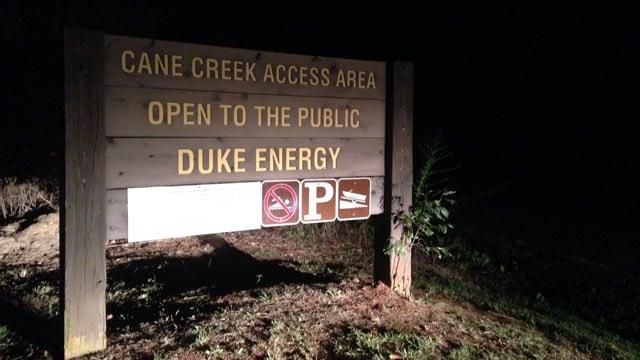 Authorities said the accident happened near the Cane Creek Access Area on Lake Keowee. (Aug. 31, 2014/FOX Carolina)