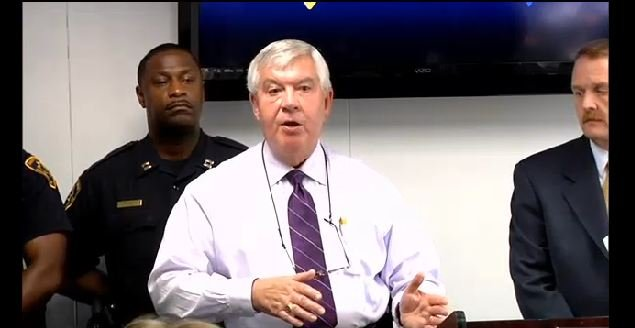 Sheriff Loftis spoke about the connection between several homicides and a shooting at the LEC. (Sept. 2, 2014/FOX Carolina)