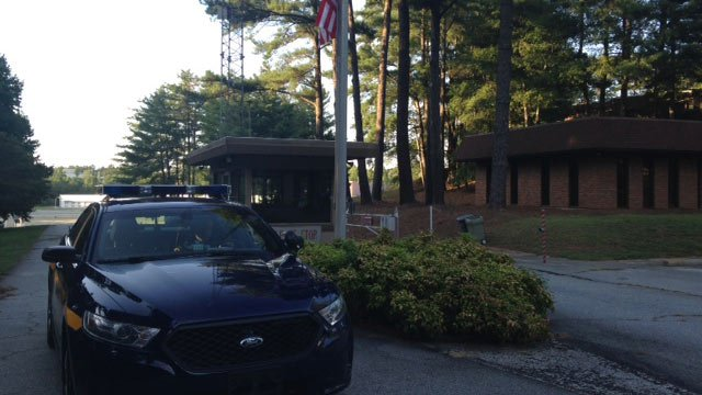 Deputies are patrolling the Hollingsworth plant after two security guards were killed. (Sept. 2, 2014/FOX Carolina)