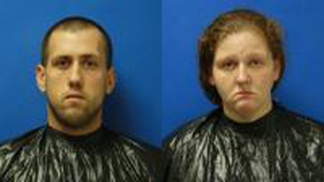 Jonathan Clowser and Misty Hopper (Source: Cherokee Co. Sheriff's Office)