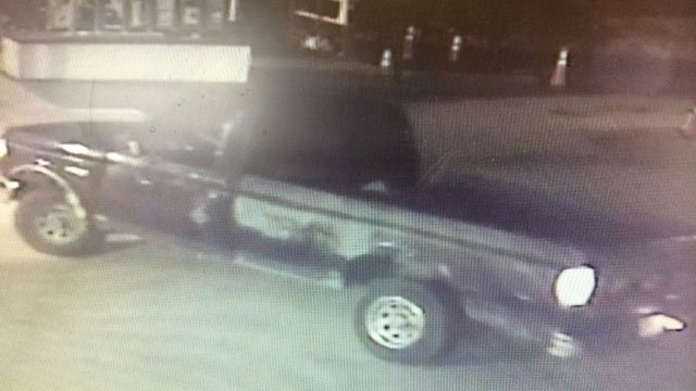 Police are looking for the owner of this truck. (Source: Marion PD)