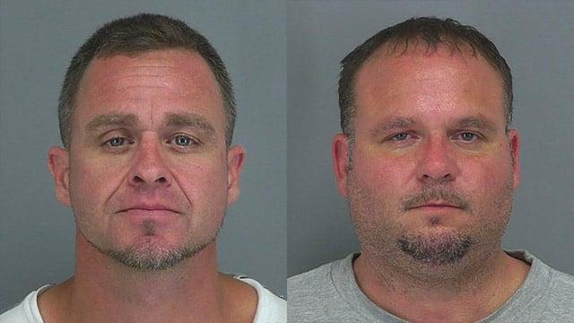 Jacob Cash (L) and Craig Stamey (Source: Spartanburg Co. Detention Center)