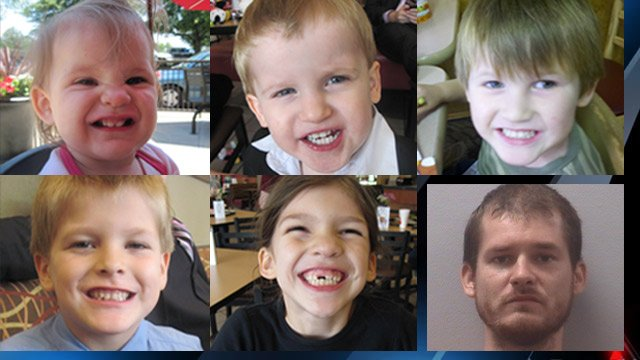 The five Jones' children and Tim Jones Jr. (Source: Lexington Co. Sheriff's Office)