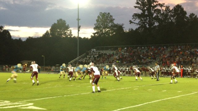 Westside visits Daniel for Week 3 of high school football. (Sept. 12, 2014/FOX Carolina)
