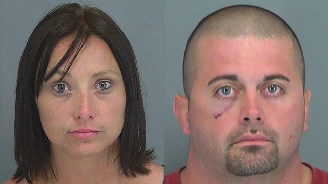 <b>Amber Jones</b> (L) and Michael Williams (Source: Spartanburg Co. - 26587720_SA