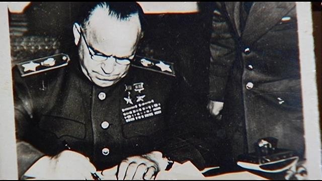 Local veteran claims photos show 1945 surrender signings (FOX Carolina)