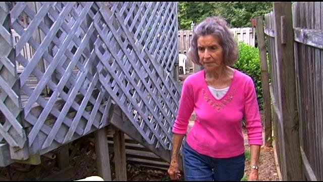 Frances Knight said a man distracted her while a woman broke into her home and stole from her (FOX Carolina)