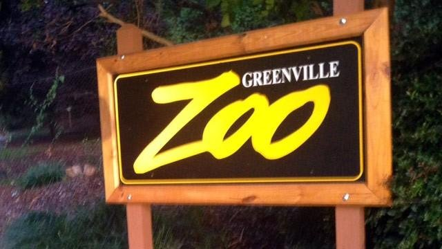 Greenville Zoo sign (File)