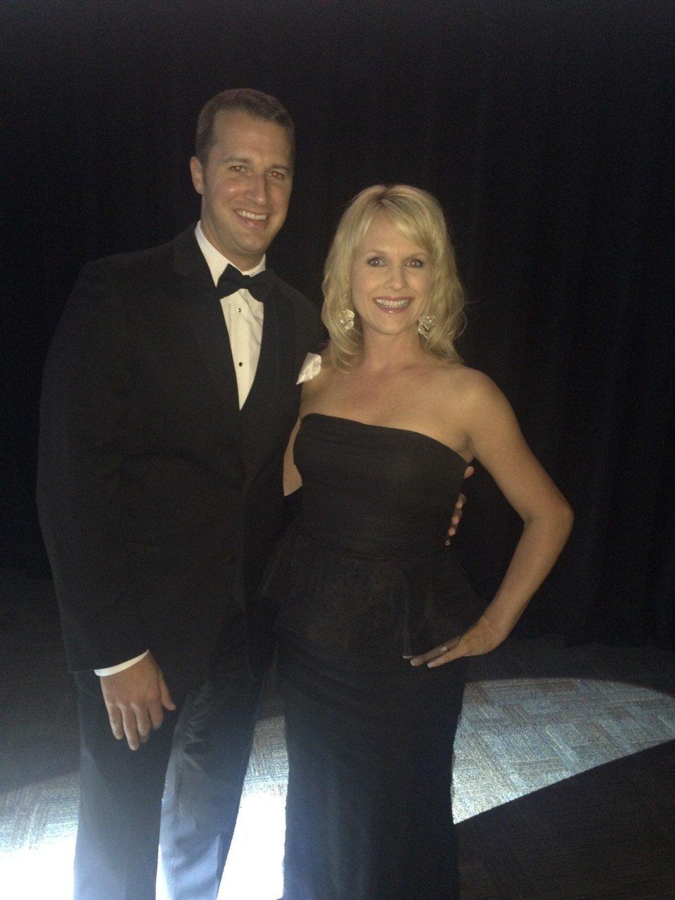 Cody and Diana at Dancing with the Carolina Stars (FOX Carolina)