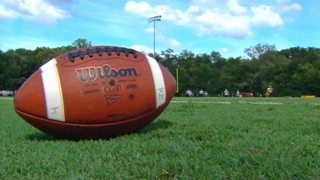 An Upstate high school football field. (File/FOX Carolina)