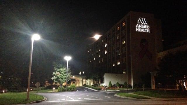 AnMed Hospital (Oct. 8, 2014/FOX Carolina)