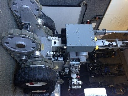 Spartanburg County's bomb robot (FOX Carolina).
