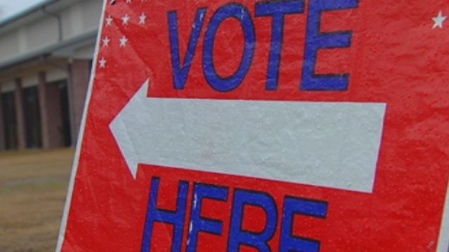 Polls open in North Carolina primary voting