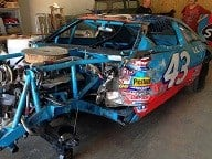Richard Petty's car that wrecked in 1988 will be auctioned off in the Upstate (FOX Carolina).