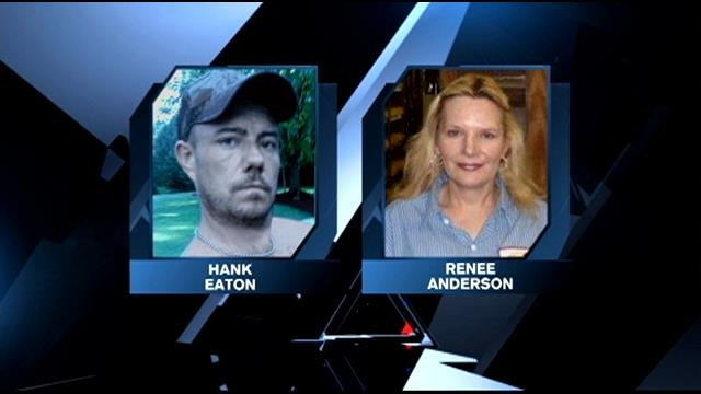 Two of the victims, Hank Eaton and Renee Anderson.