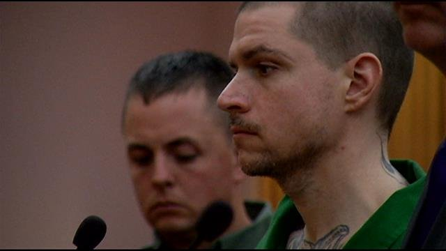 Jared Williams pleads guilty to killing three in Pelzer in early 2014. (Nov. 13, 2014/FOX Carolina)