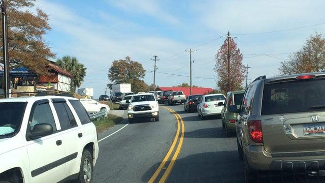 I 85 traffic moving again after 2 car crash for Motor mile greenville sc