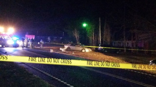 Deputies were on the scene of a shooting on Monday (Dec. 8, 2014/FOX Carolina iWitness S. Charnovic)