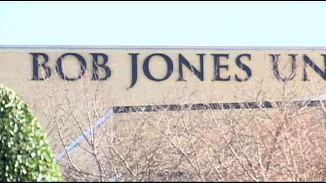 Bob Jones University is located in Greenville, SC. (Dec. 17, 2014/FOX Carolina)