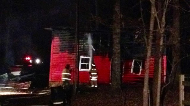 Man Cave Jackson Tennessee : Man cave burns in inman fire wmc action news