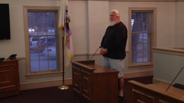 John Hughes when he went before a judge on Jan. 28, 2015 (FOX Carolina)