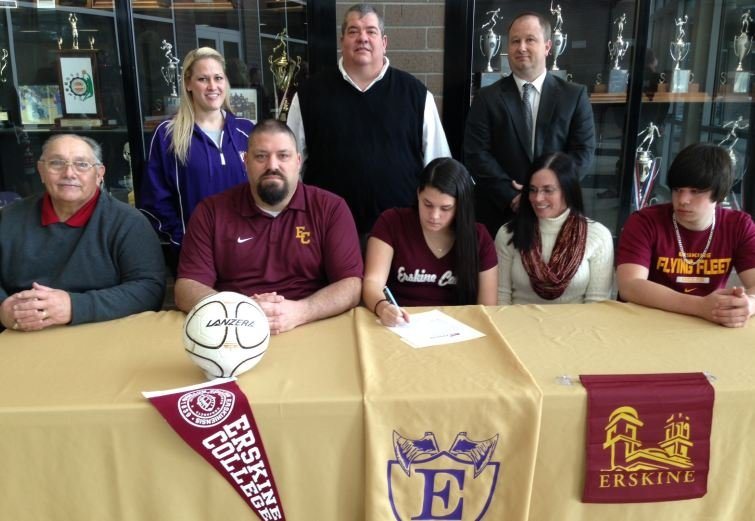 Josie Day signs with Erskine (FOX Carolina)