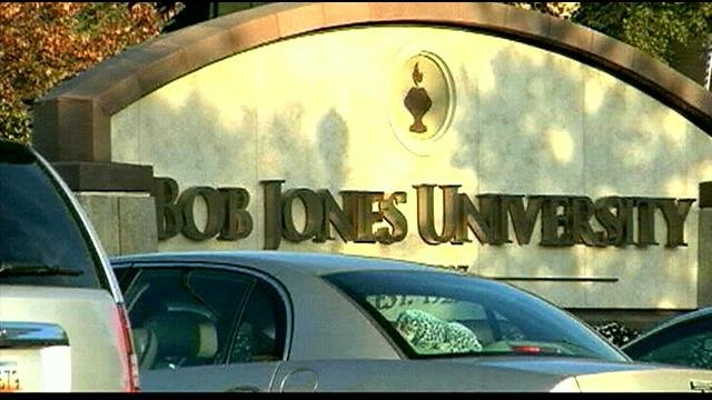 Bob Jones University (File/FOX Carolina)