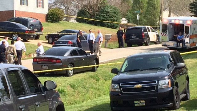 Officials are investigating the shooting Thursday. (April 9, 2015/FOX Carolina)