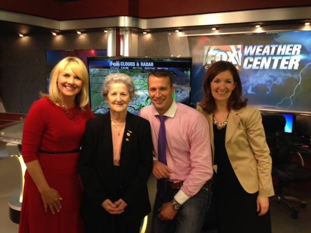 Martha Patterson visits the FOX Carolina studio. (FOX Carolina)