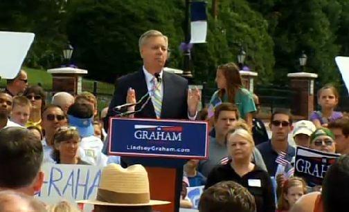Lindsey Graham in Central, SC (FOX Carolina/ June 1, 2015)