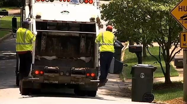 Trash truck (File/FOX Carolina)