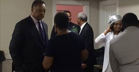 Jesse Jackson (left) in the Upstate (File/ July, 2015)