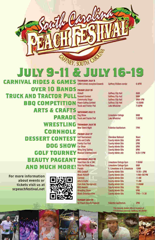Gaffney Peach Festival Car Show