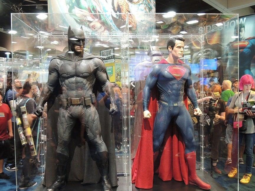 Batman/Superman costumes from Batman v Superman
