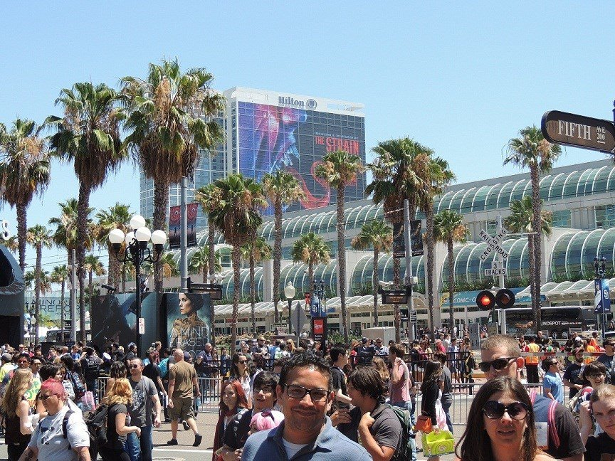Busy Streets of Comic Con