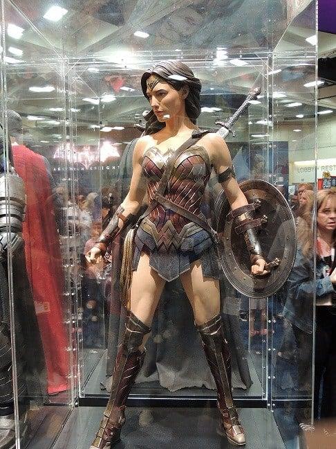 Wonder Woman's costume from Batman v Superman