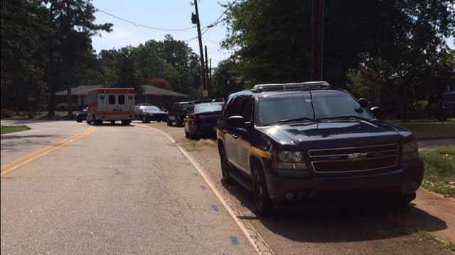 Shooting reported on Jacob's Road (FOX Carolina/ July 27, 2015)