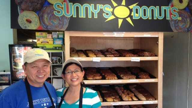 Sunny's Donuts in Gaffney was voted as having the best doughnuts in SC. (FOX Carolina 8/25/2015)
