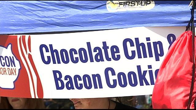 Vendors at Bacon Labor Day (FOX Carolina)