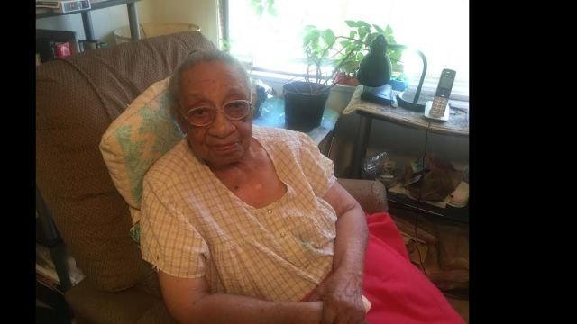 103-year-old Genora Hamm Biggs talks about church ban. (FOX Carolina/ Sept. 14, 2015)