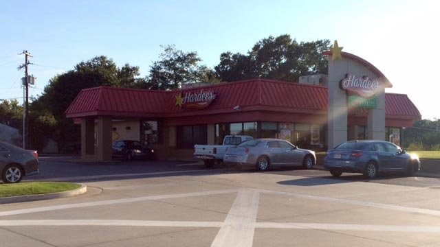 The Hardee's in Lyman. (Sept. 18, 2015/FOX Carolina)