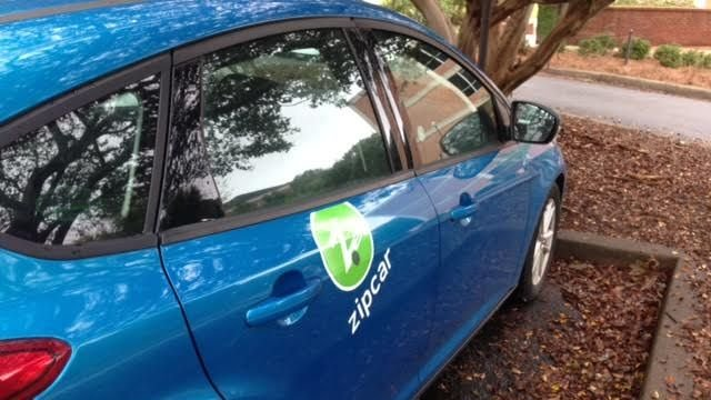 Students, employees participate in Zipcar Prorgam at Clemson University. (FOX Carolina/ Sept. 29, 2015)