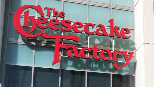 Entrance to the Cheesecake Factory in Seattle. (Source: Wikimedia)