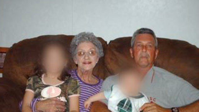 Barbara Scott, center, is pictured in this photo provided to FOX Carolina by family.