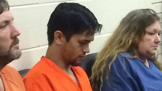 Joseph Kemp is pictured in court. (FOX Carolina 11/6/2015)