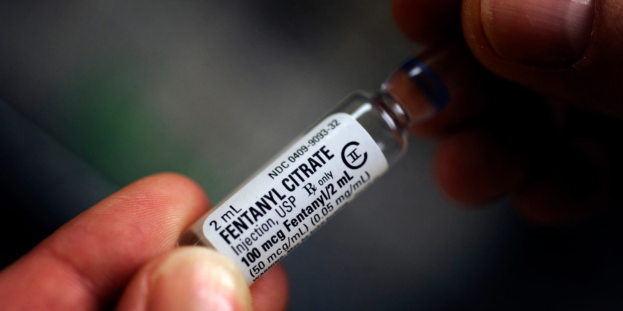 Fentanyl, an end-of-life pain killer, is being used to shoot up in place of or with heroin (Wikipedia)