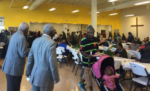 Thanksgiving Carolina Center Soup Kitchen