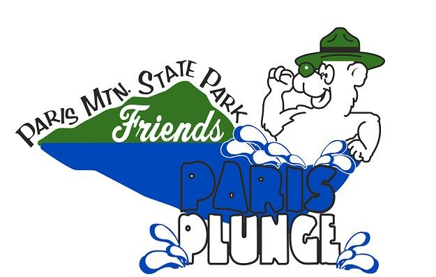 Paris Plunge logo (Courtesy: Paris Mountain State Park)